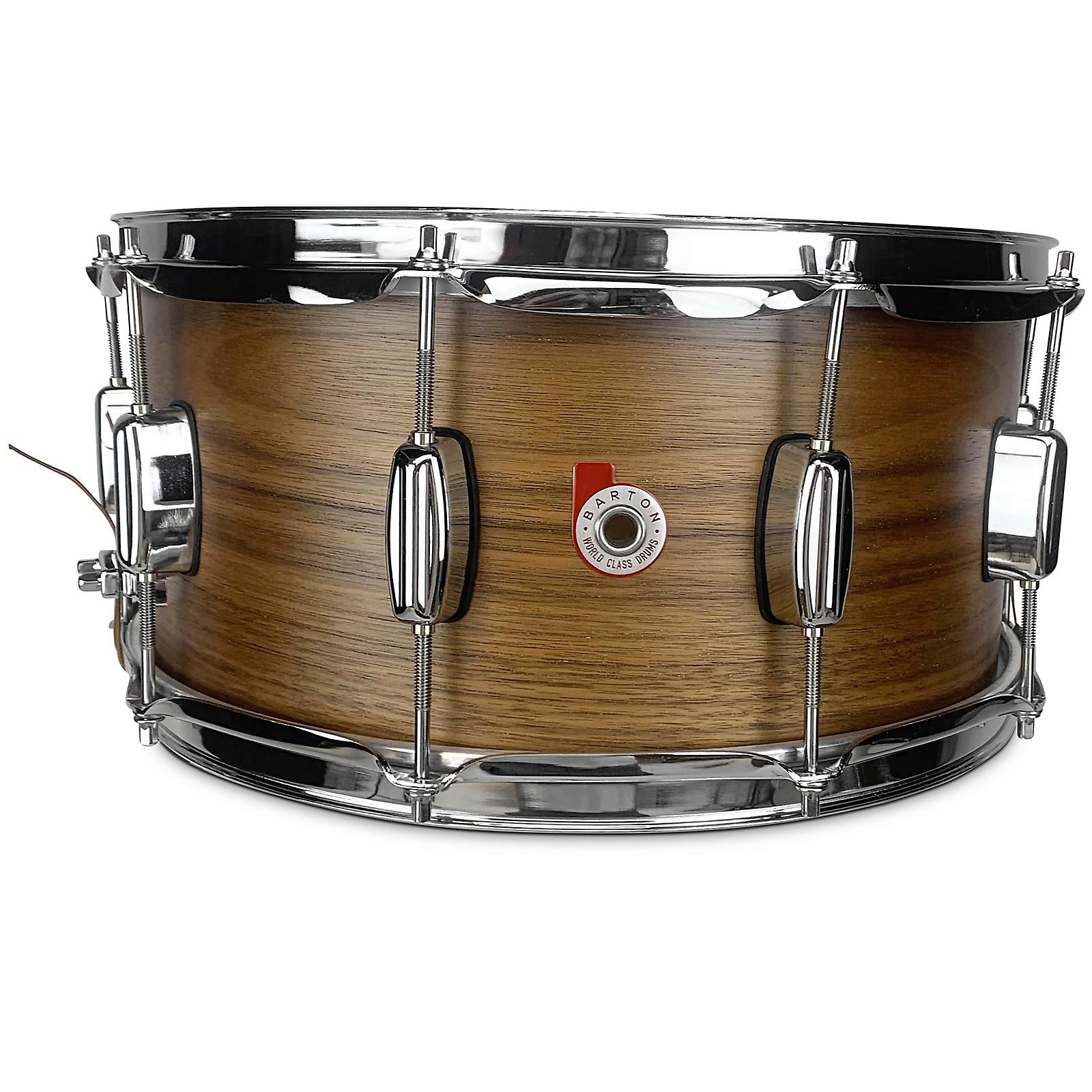 Barton Drums Walnut Snare Drum