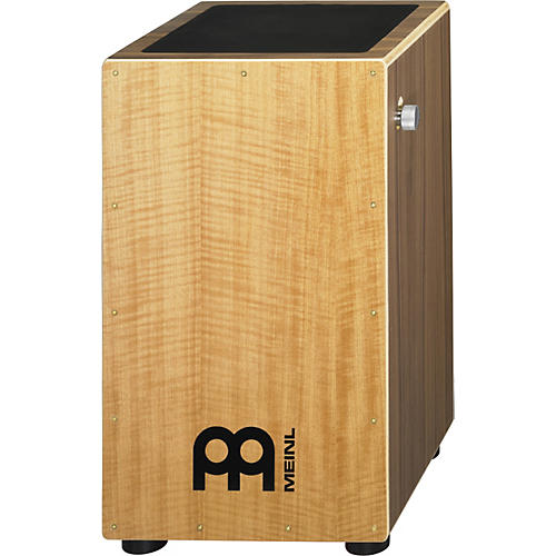 Meinl Walnut Wood Snare Cajon with Anegre Frontplate