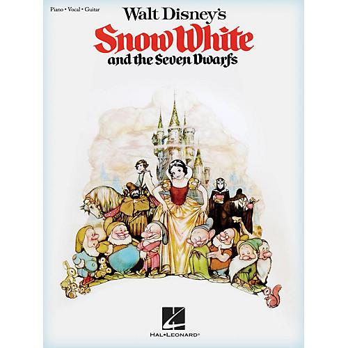 Hal Leonard Walt Disney's Snow White and the Seven Dwarfs Piano/Vocal/Guitar Songbook