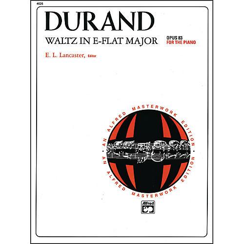 Alfred Waltz in E-Flat Major