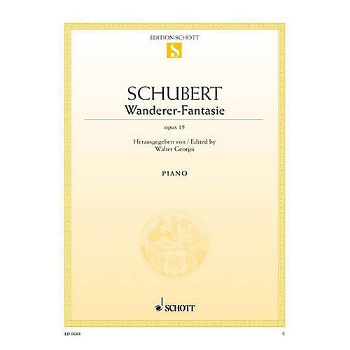 Schott Wanderer Fantasy, Op. 15, D 760 Schott Series