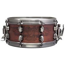 Open BoxMapex Warbird Chris Adler Artist Inspired Black Panther Snare Drum