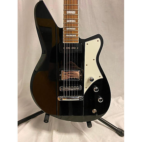 Reverend Warhawk Double Agent Solid Body Electric Guitar Black