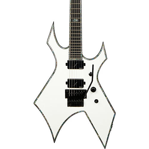 B.C. Rich Warlock Extreme with Floyd Rose Electric Guitar Matte White