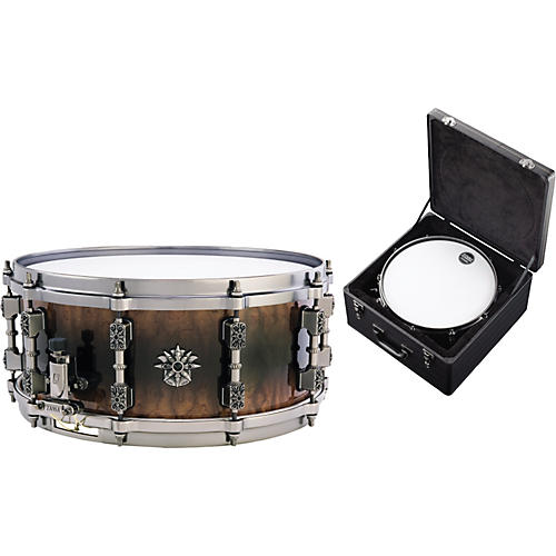 TAMA Warlord Collection Masai Snare Drum with Case