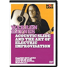 Hot Licks Warren Haynes Electric Slide and the Art Of Improvisation DVD