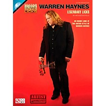 Cherry Lane Warren Haynes Legendary Licks Book/CD