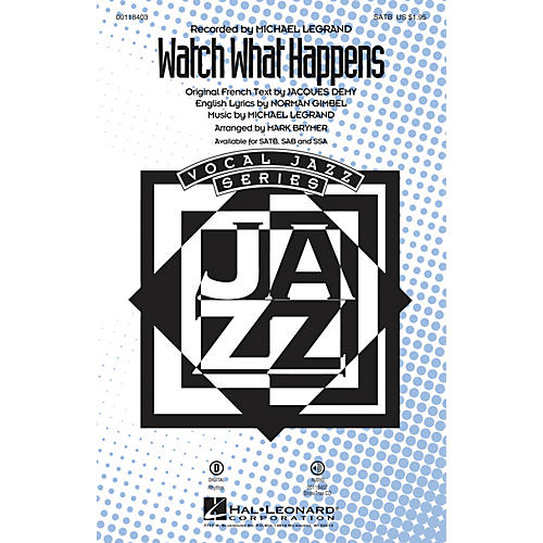 Hal Leonard Watch What Happens ShowTrax CD Arranged by Mark Brymer