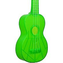 Waterman Soprano Ukulele Fluorescent Green