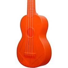 Waterman Soprano Ukulele Fluorescent Orange