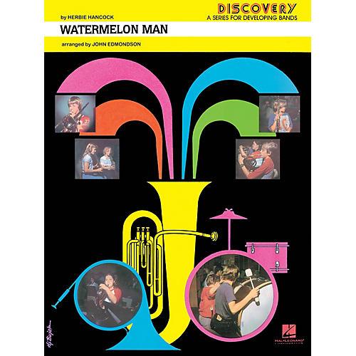 Hal Leonard Watermelon Man Concert Band Level 1.5 by Herbie Hancock Arranged by John Edmondson