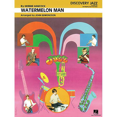 Hal Leonard Watermelon Man Jazz Band Level 1-2 by Herbie Hancock Arranged by John Edmondson