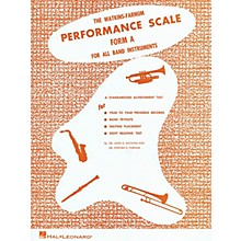 Hal Leonard Watkins-Farnum Performance Scale - Form A Book Study Score Series Softcover by Dr. John G. Watkins