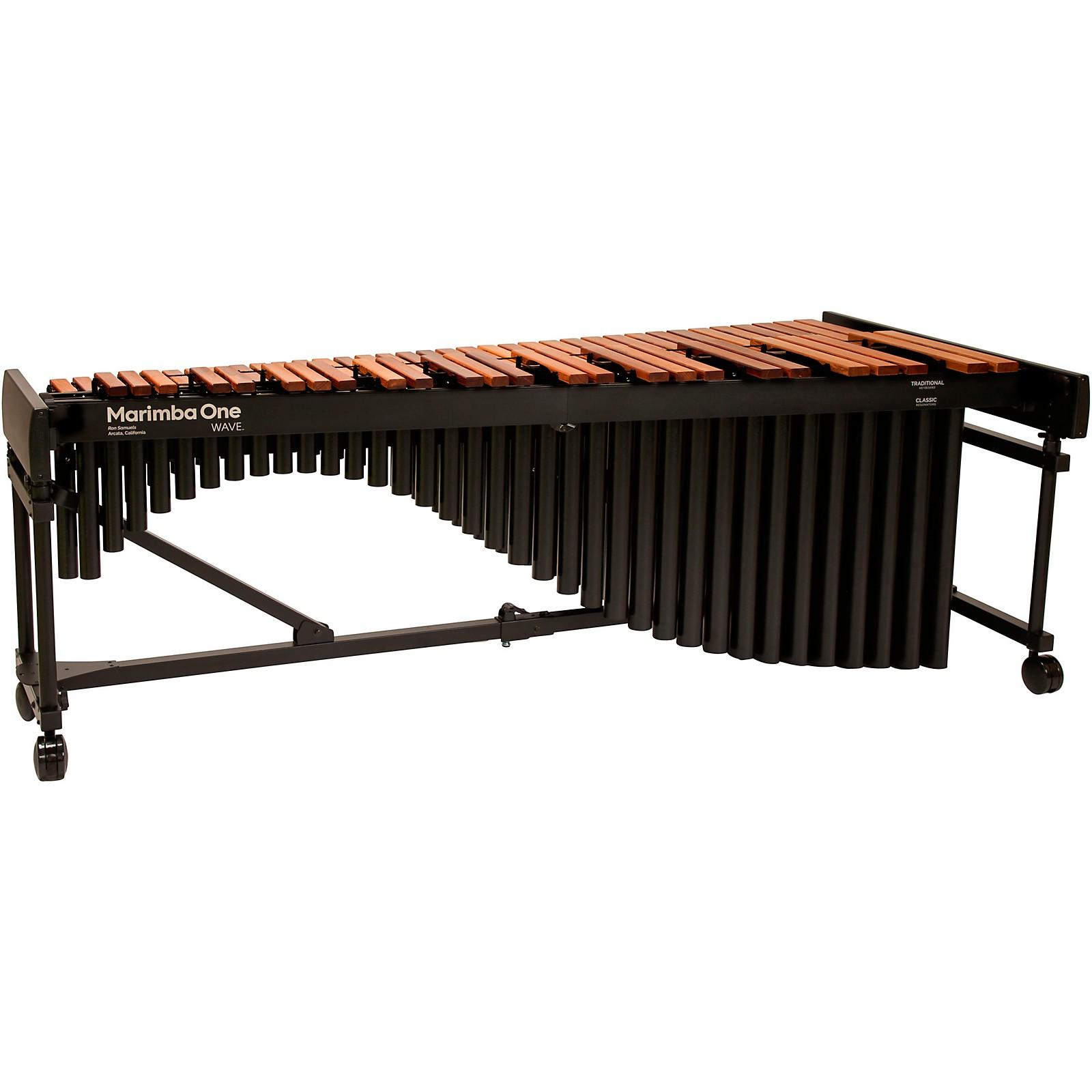 Marimba One Wave #9604 A442 5.0 Octave Marimba with Traditional Keyboard and Basso Bravo Resonators 4