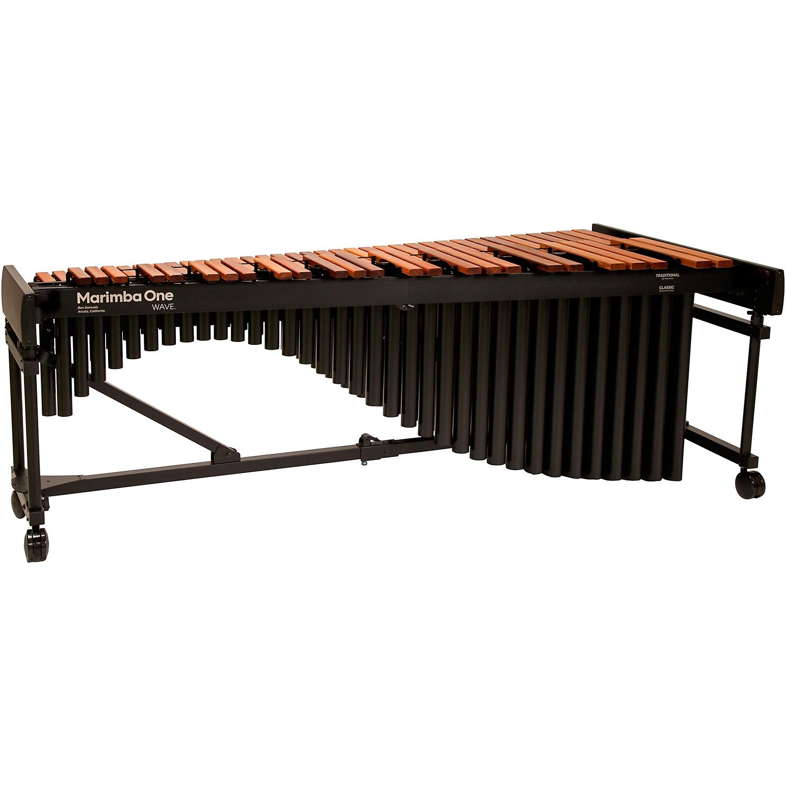 Marimba One Wave #9605 A442 5.0 Octave Marimba with Enhanced Keyboard and Basso Bravo Resonators 4