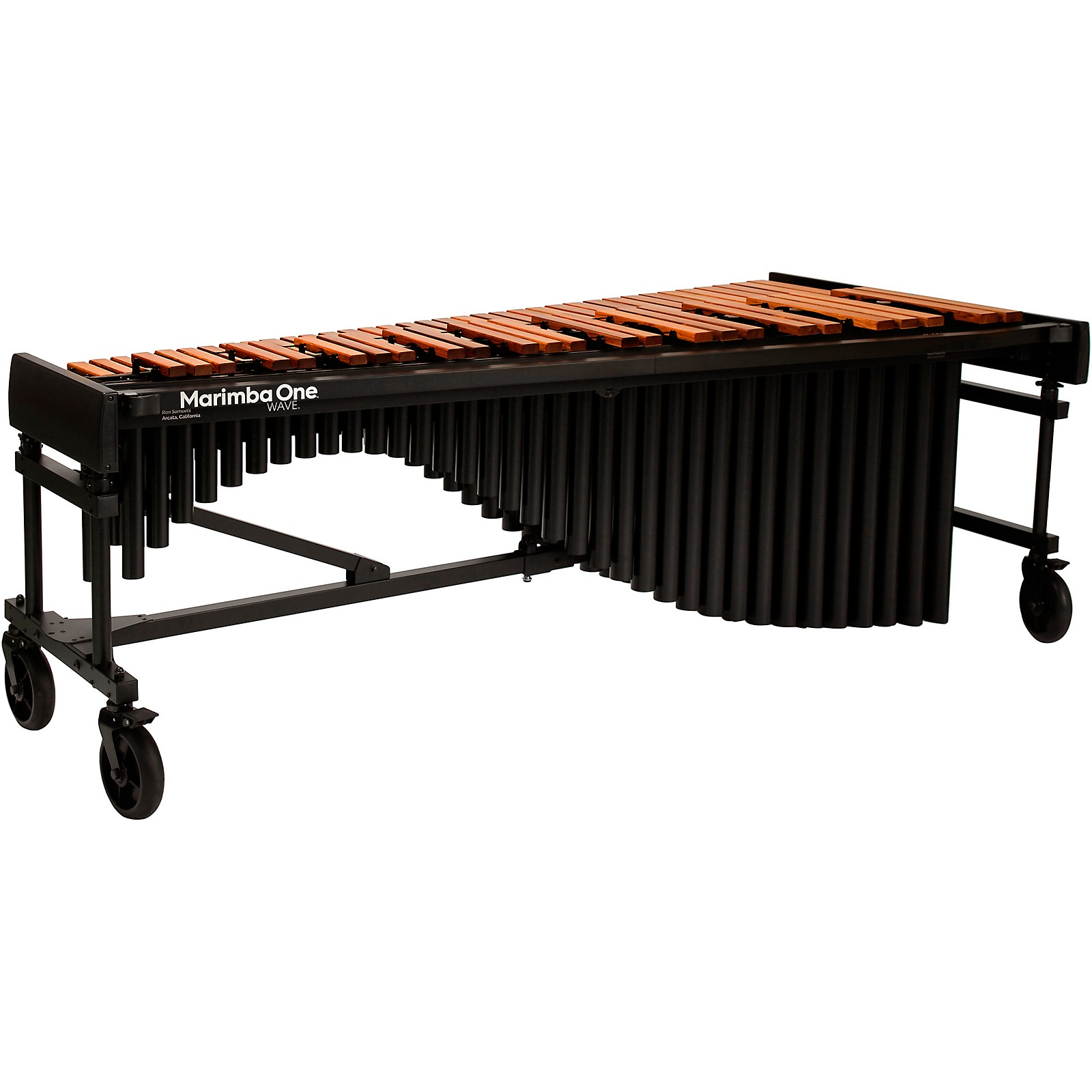 Marimba One Wave #9611 A442 5.0 Octave Marimba with Traditional Keyboard and Classic Resonators 8