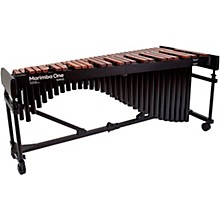 "Marimba One Wave #9622 A442 4.3 Octave Marimba with Enhanced Keyboard and Classic Resonators 4""casters"