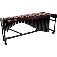 "Marimba One Wave #9623 A440 4.3 Octave Marimba with Premium Keyboard and Classic Resonators 4""casters"