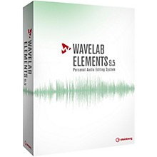 Steinberg WaveLab Elements 9.5 Upgrade from WaveLab Elements 8