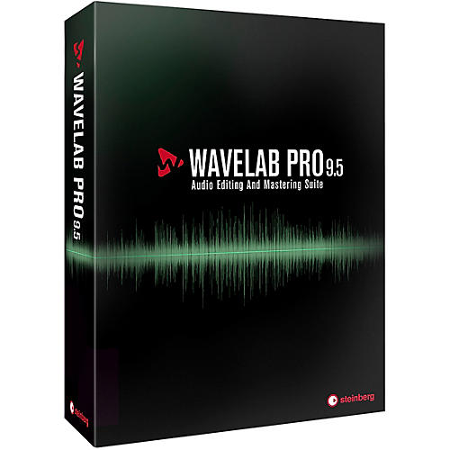 Steinberg WaveLab Pro 9.5 Upgrade from WaveLab 9