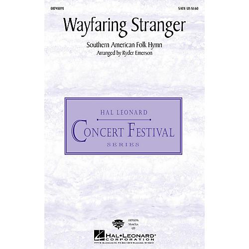 Hal Leonard Wayfaring Stranger SATB arranged by Cassandra Emerson