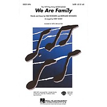Hal Leonard We Are Family SSA by Sister Sledge Arranged by Kirby Shaw