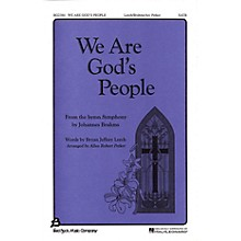 Fred Bock Music We Are God's People SATB arranged by Allan Robert Petker