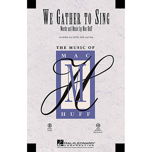 Hal Leonard We Gather to Sing ShowTrax CD Composed by Mac Huff