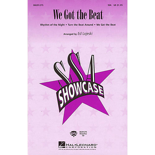 Hal Leonard We Got the Beat (Medley) ShowTrax CD Arranged by Ed Lojeski