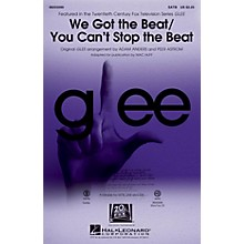 Hal Leonard We Got the Beat/You Can't Stop the Beat SATB by Glee Cast arranged by Adam Anders