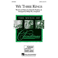 Hal Leonard We Three Kings SATB arranged by Philip Stopford