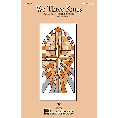 Hal Leonard We Three Kings TTB arranged by Earlene Rentz