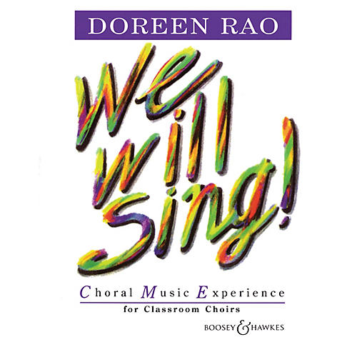 Boosey and Hawkes We Will Sing! (Complete Resource Pack) Composed by Doreen Rao