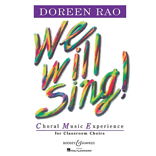 Boosey and Hawkes We Will Sing! (Performance CD) Listening CD Composed by Doreen Rao
