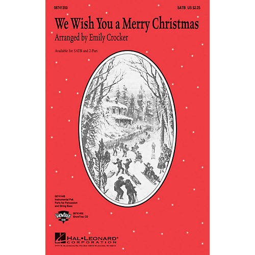 Hal Leonard We Wish You a Merry Christmas ShowTrax CD Arranged by Emily Crocker