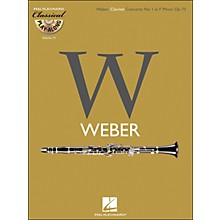 Hal Leonard Weber: Clarinet Concerto No.1In F Minor, Op.73 Classical Play-Along Book/CD Vol.14