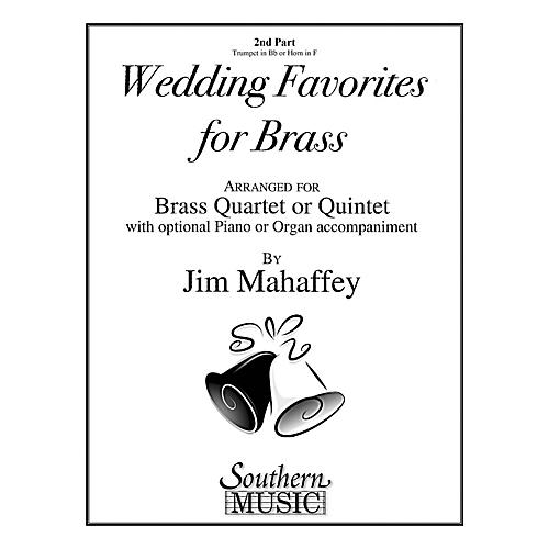Southern Wedding Favorites for Brass (Part 2 - Trumpet/Horn) Southern Music Series Arranged by Jim Mahaffey