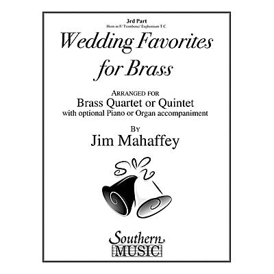 Southern Wedding Favorites for Brass (Part 3 - Horn/Trombone/Euphonium) Southern Music Series by Jim Mahaffey