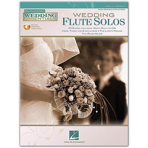 Hal Leonard Wedding Flute Solos - Wedding Essentials Series Book/Online Audio