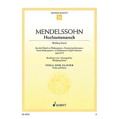 Schott Wedding March - Op. 61, No. 9 from A Midsummer Night's Dream by Felix Mendelssohn Bartholdy