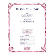 Southern Wedding Music (String Bass) Southern Music Series Arranged by Cleo Aufderhaar