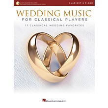 Hal Leonard Wedding Music for Classical Players - Clarinet and Piano Book/Audio Online