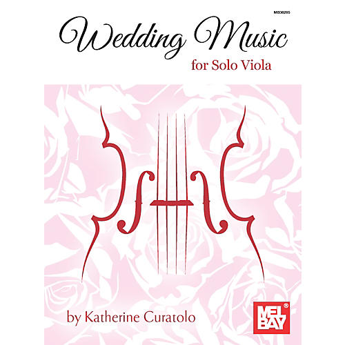 Mel Bay Wedding Music for Solo Viola
