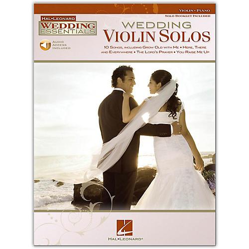 Hal Leonard Wedding Violin Solos - Wedding Essentials Series Book/Online Audio
