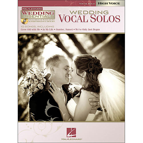 Hal Leonard Wedding Vocal Solos - Wedding Essentials Series for High Voice Book/CD
