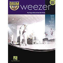Hal Leonard Weezer - Drum Play-Along Volume 21 Book/CD