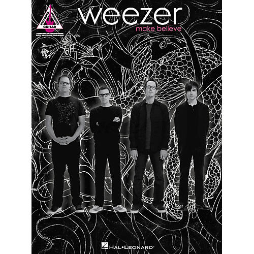 hal leonard weezer make believe guitar tab songbook musician 39 s friend. Black Bedroom Furniture Sets. Home Design Ideas