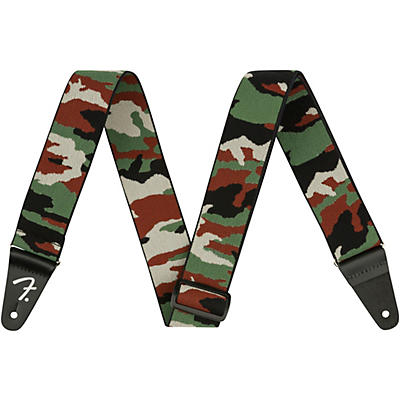 Fender Weighless Camouflage Guitar Strap