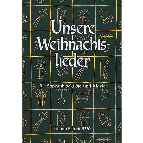 Schott Weihnachtslieder Rec/pf Schott Series