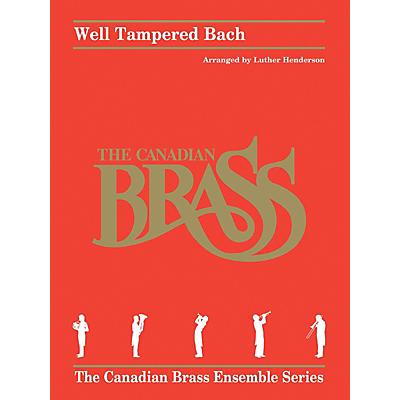 Hal Leonard Well Tampered Bach Brass Ensemble Series by Johann Sebastian Bach Arranged by Luther Henderson